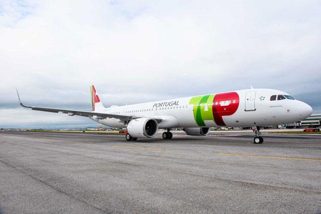 aerolínea tap portugal chicago airbus