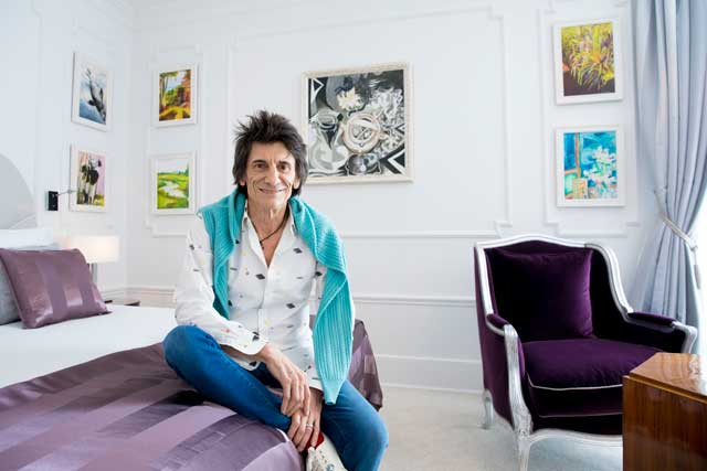 el palace charity stay ronnie wood