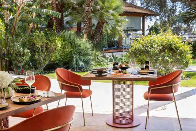 hotel don pepe en marbella terraza