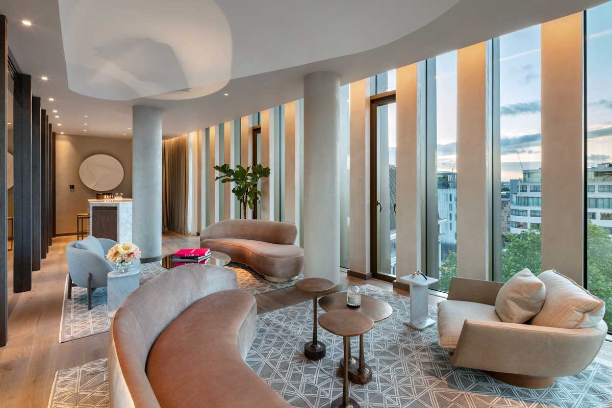 hotel the londoner penthouse suite
