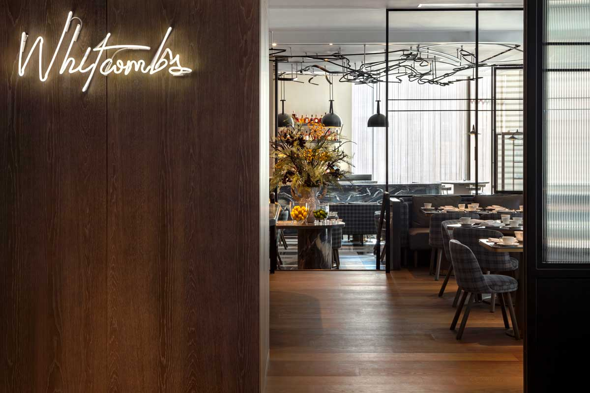 Whitcomb's at hotel the londoner